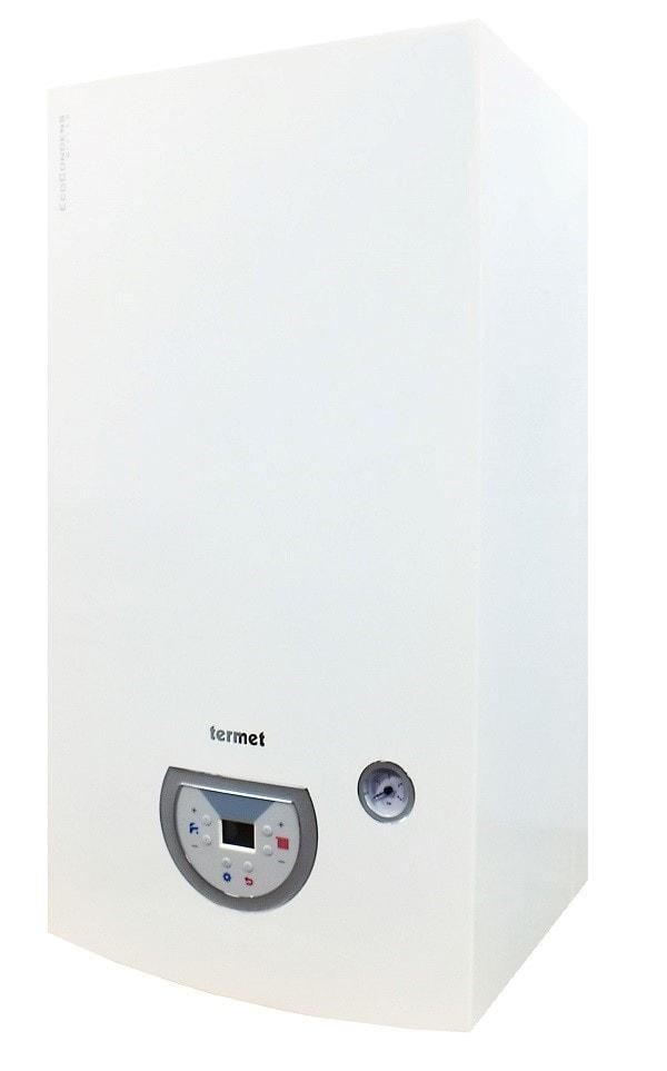 Gazowy podgrzewacz wody z zamkniętą komorą spalania Termet Ecocondens Dwufunkcyjny