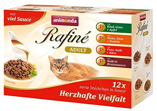 Mokre karmy dla kotów Animonda