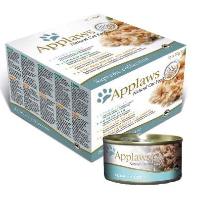 Mokre karmy dla kotów Applaws