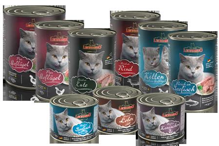 Mokre karmy dla kotów Leonardo