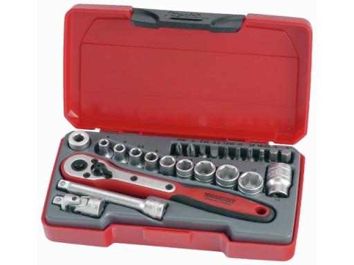 Tengtools Zestaw kluczy nasadowych 1/4 24 elementy T1424 16792-0107