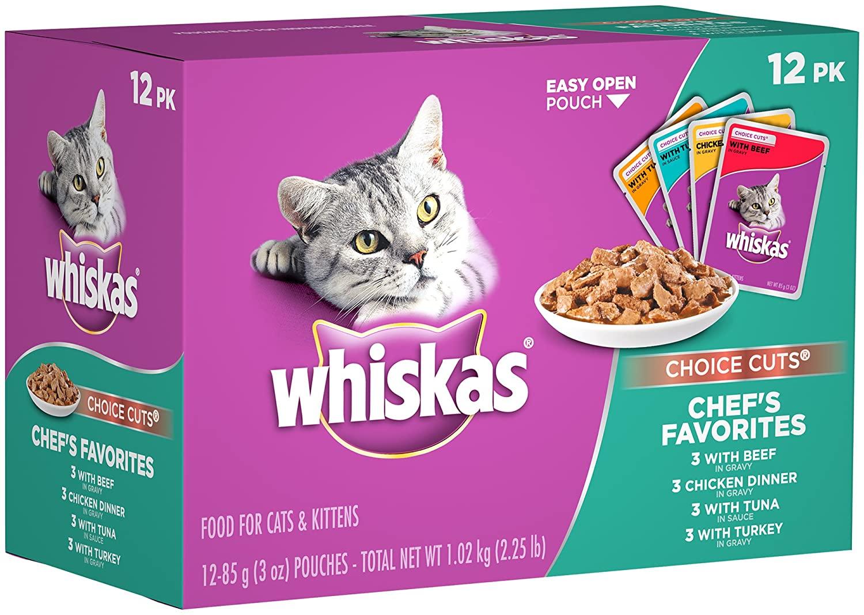 Mokre karmy dla kotów Whiskas