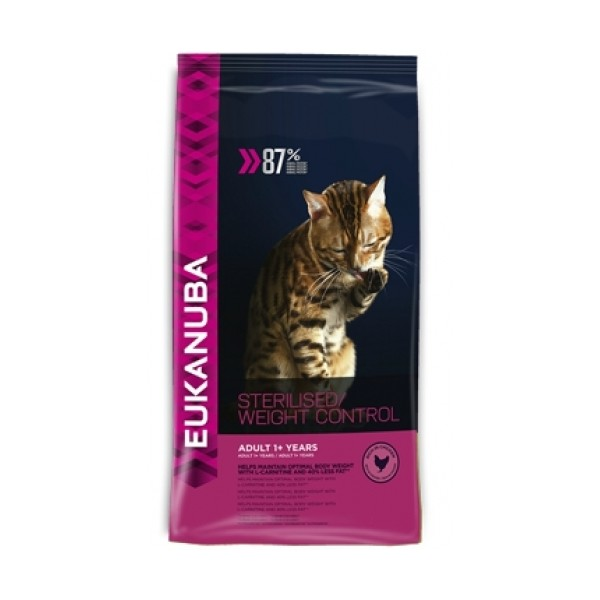 Eukanuba Adult Cat Sterilized/Weight Control