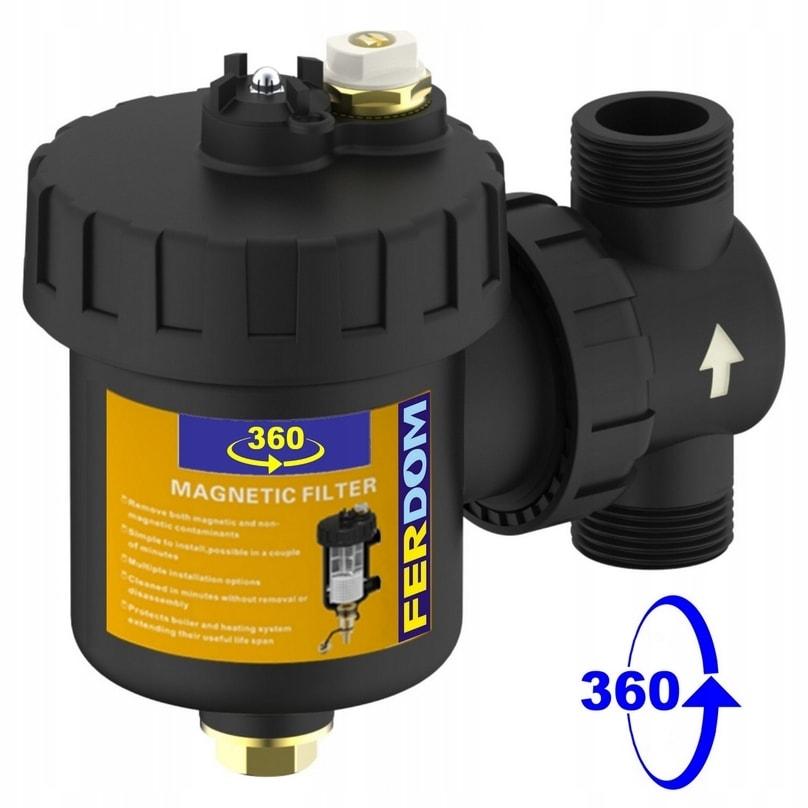 FD360 Filtr Magnetyczny-Magnetyzer C.O.1cal Ferdom